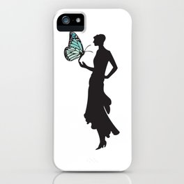 Monarch Madame iPhone Case