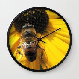 A Bee's Life Wall Clock