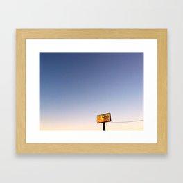 Ferrarese's Deli Sign – Oakdale, California, USA Framed Art Print