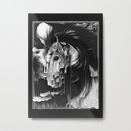 LightMare Metal Print