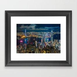 HONG KONG 10 Framed Art Print