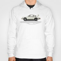 porsche Hoodies featuring Porsche by Tony Vazquez