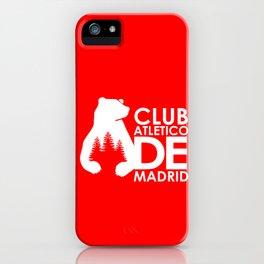 Slogan Atletico Madrid iPhone Case