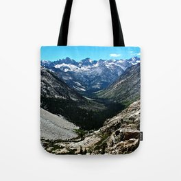 Sierra Nevada Mountain Landscape Tote Bag
