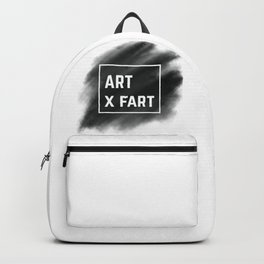 Art x Fart 'Black' Backpack