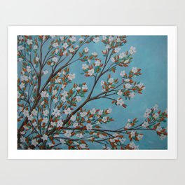 Life in Bloom Art Print