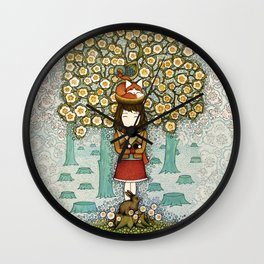 Deforestation Wall Clock