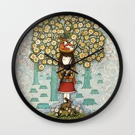 Deforestation Wall Clock