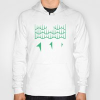 northern lights Hoodies featuring Northern Lights by Mortar Made