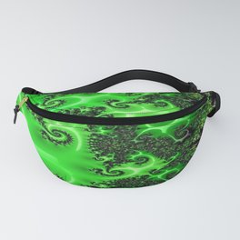 Green Lace Fanny Pack