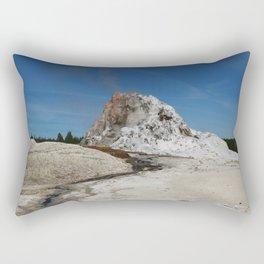 White Dome Rectangular Pillow