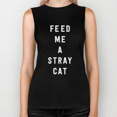 American Psycho - Feed me a stray cat. Biker Tank