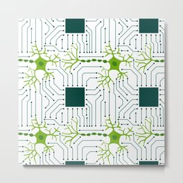 Neural Network 1 Metal Print