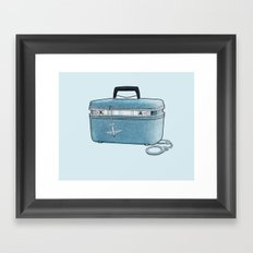 LOST Luggage / Kate Framed Art Print
