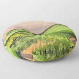 Kingsbarns Golf Course Scotland 9th Green Floor Pillow
