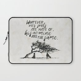 Wuthering Heights - Souls Laptop Sleeve