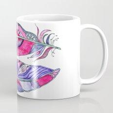 Bohemian Spirit Feathers - Magenta & Violet Mug