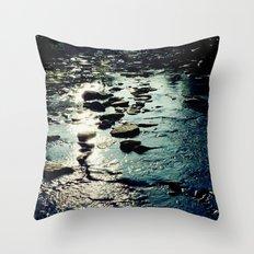 Ithaca Creek Throw Pillow