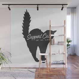 Support Scared Cats Wall Mural
