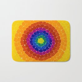 Classical African-American Masterpiece 'Resurrection' by Alma Thomas Bath Mat