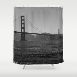 Golden Gate Bridge III Shower Curtain