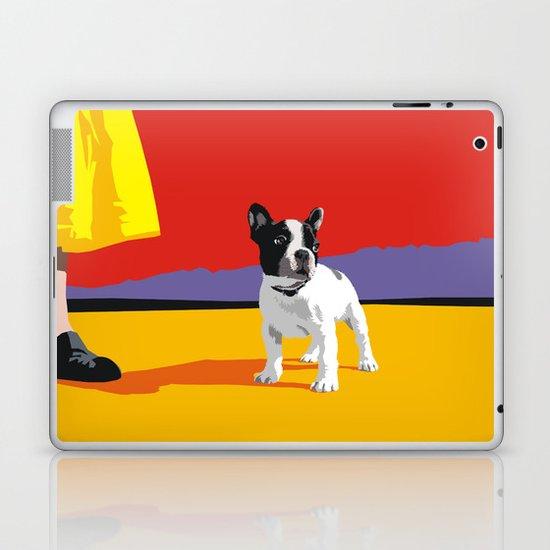 Boston terrier Laptop & iPad Skin