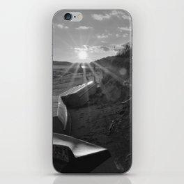 Wellfleet Landing In Winter iPhone Skin