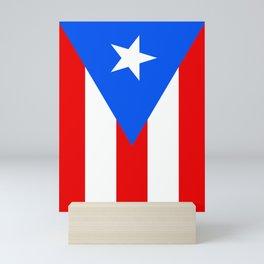 Puerto Rico Flag - Boricua Pride Mini Art Print