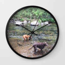 MCCLOUD RIVER Wall Clock