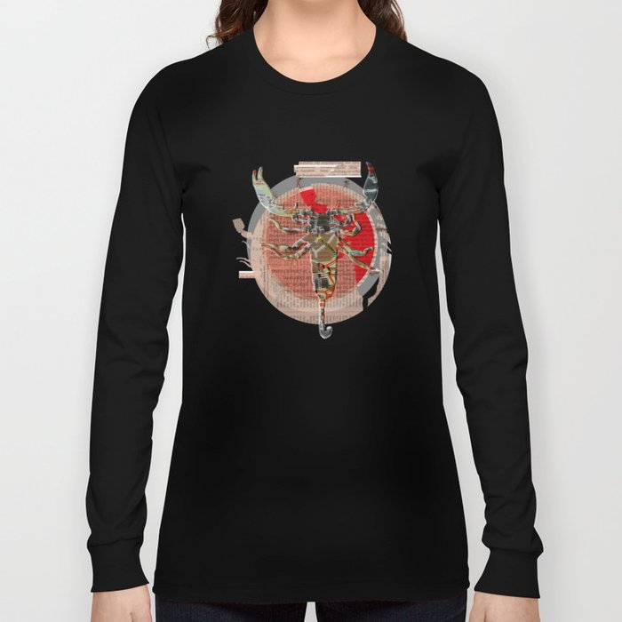 The Kiss of the Skorpion Long Sleeve T-shirt