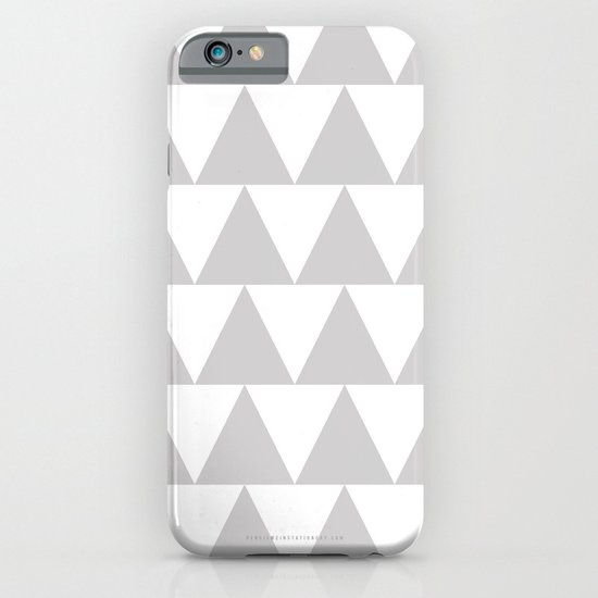 Grey Triangle /// www.pencilmeinstationery.com iPhone & iPod Case