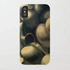 Charcoal Eggs Slim Case iPhone X