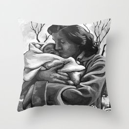 November's Miracle Throw Pillow