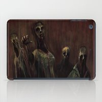 zombies iPad Cases featuring Zombies! by Adam Howie