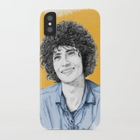 tim shumate iPhone & iPod Cases featuring Tim Buckley by Daniel Cash