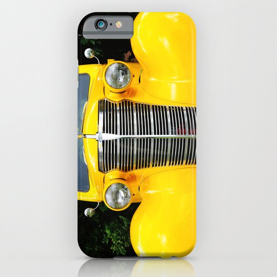 Yellow Chevy iPhone & iPod Case