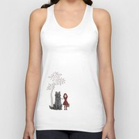 red hood Tank Tops featuring Red Hood by MonsterBot