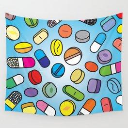 Drugs n Pills Wall Tapestry