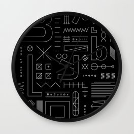 Babylon Wall Clock