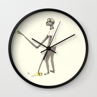 graffiti Wall Clocks featuring GRAFFITI by auntikatar