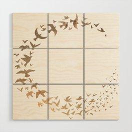 Starbirds Wood Wall Art