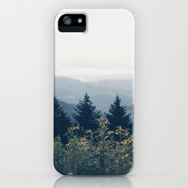 the mountain air iPhone Case
