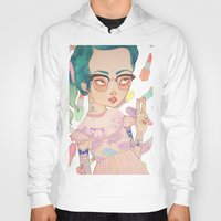 loll3 Hoodies featuring Prom Queen by lOll3