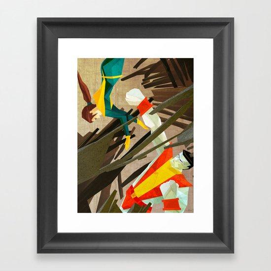 Kiotr Framed Art Print