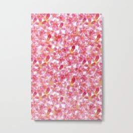 Flower Power | Original Pink Palette Metal Print