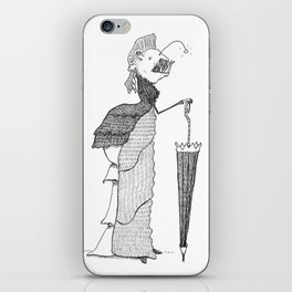 Lady of the Deep iPhone Skin