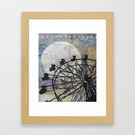 Chance Encounter Framed Art Print