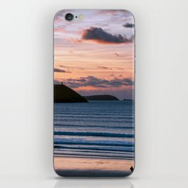 Polzeath Sunset iPhone Skin
