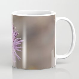 Purple Flowers Vintage on the Beach Coffee Mug