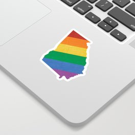 Georgia Pride Sticker